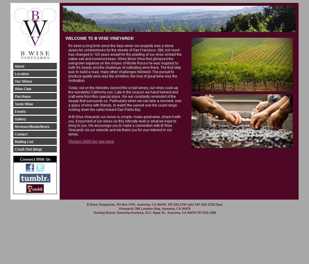 B Wise Vineyards